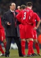Benitez i Finnan rozstrząsają dlaczego Liverpool nie pokonał Blackburn /AFP