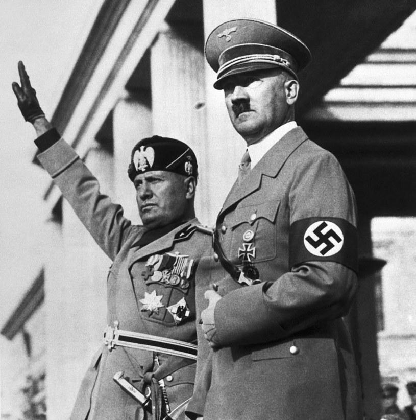 Benito Mussolini i Adolf Hitler /Bettmann /Getty Images