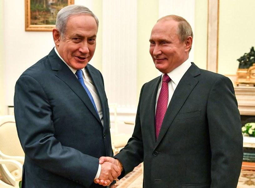 Benjamin Netanjahu i Władimir Putin /AFP