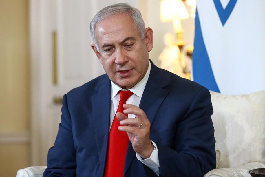 Benjamin Netanjahu /SIMON DAWSON / POOL /PAP/EPA
