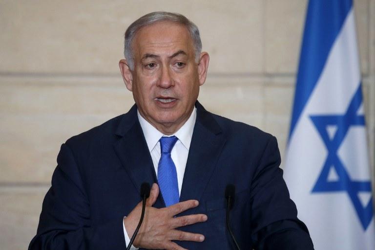 Benjamin Netanjahu /PHILIPPE WOJAZER / POOL /AFP