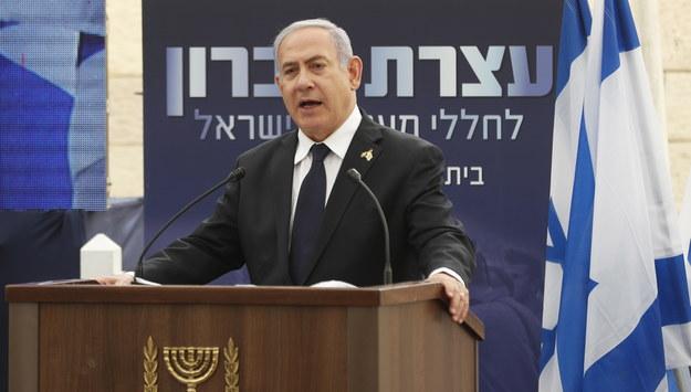 Benjamin Netanjahu /RONEN ZVULUN /PAP/EPA