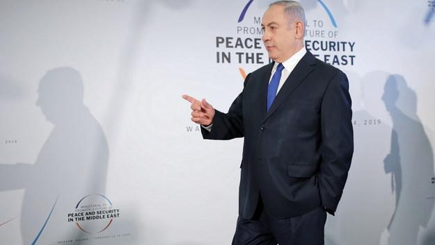 Benjamin Netanjahu /Leszek Szymański /PAP