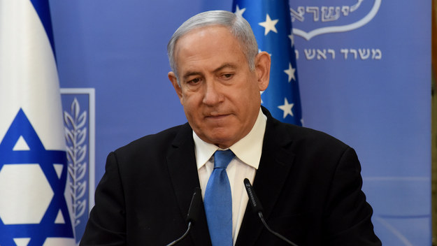 Benjamin Netanjahu /DEBBIE HILL / POOL /PAP/EPA
