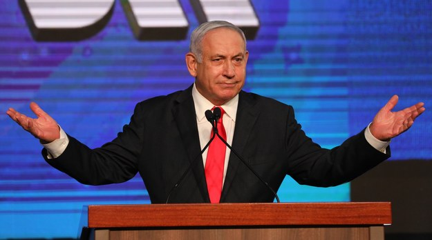 Benjamin Netanjahu /ABIR SULTAN /PAP/EPA