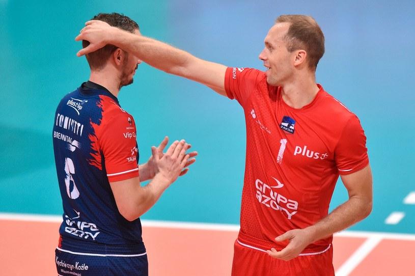 Benjamin Toniutti i Paweł Zatorski /Fot. Łukasz Laskowski /Newspix