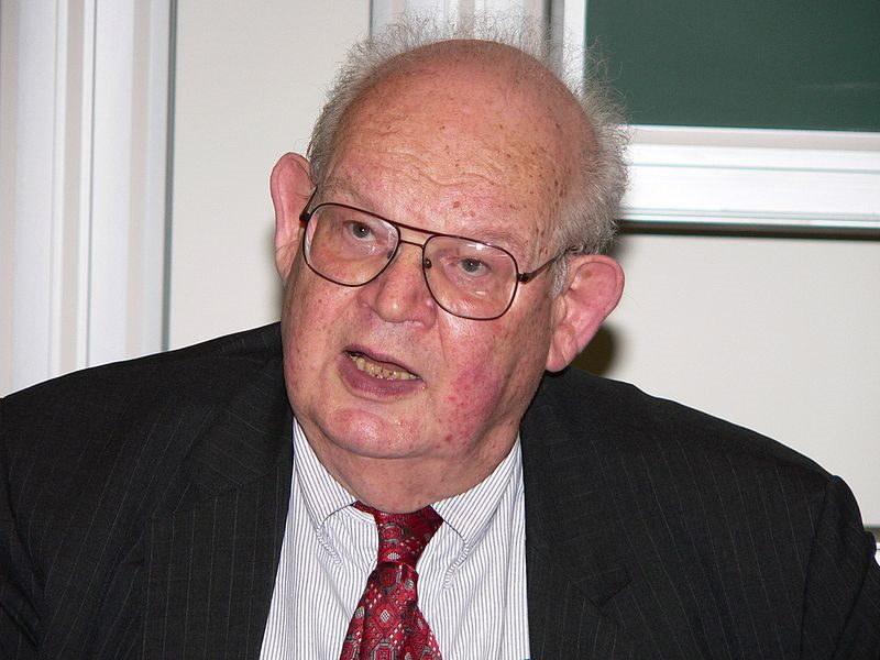 Benoît Mandelbrot, zdjęcie z 2008 roku. Fot. Wikipedia/David Monniaux/GNU /Wikipedia
