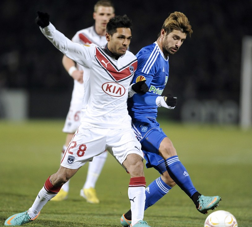 Benoit Tremoulinas opuszcza Girondins Bordeaux /AFP