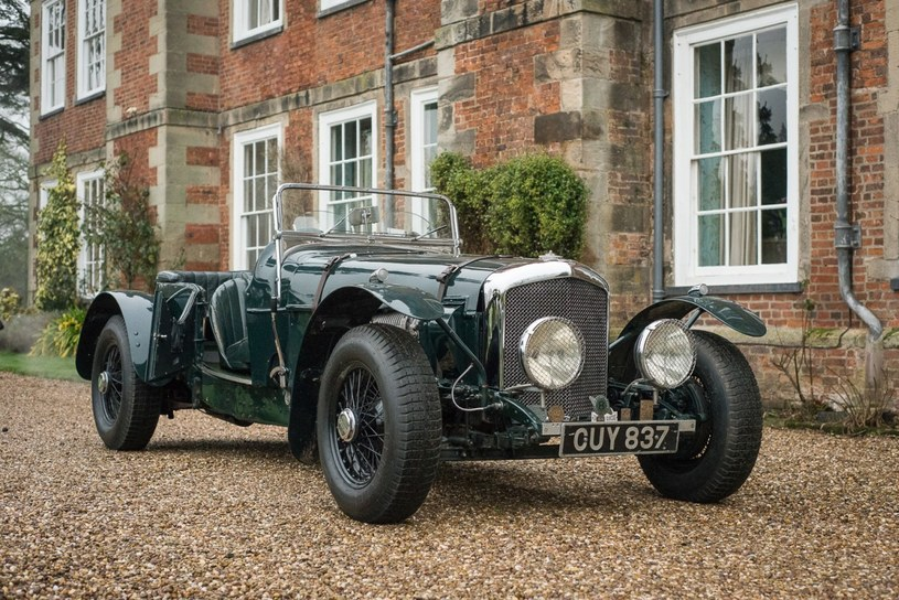 Bentley 4 1/4 Ltr Blown Derby z 1939 roku /