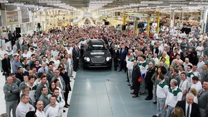 Bentley Bentayga - wyprodukowano pierwszy egzemplarz