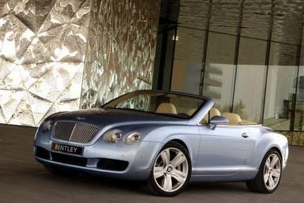 Bentley continental GTC / Kliknij /INTERIA.PL