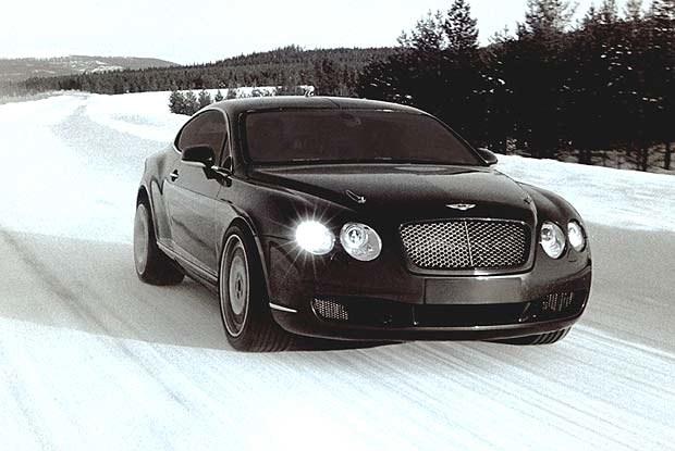 Bentley GT coupe na Kole Podbiegunowym (kliknij) /INTERIA.PL