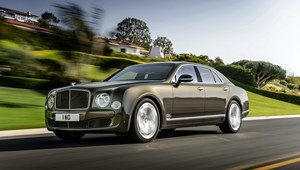 Bentley Mulsanne Speed - Jego Wysokość