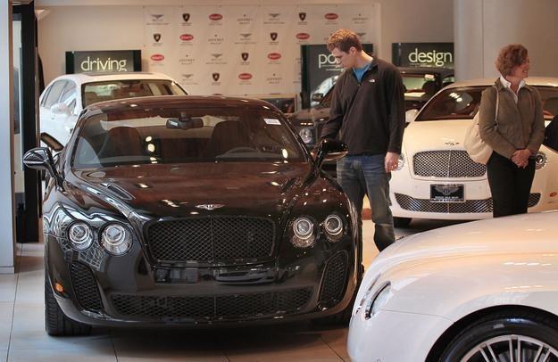 Bentley nie nadąża z realizacją zamówień /AFP