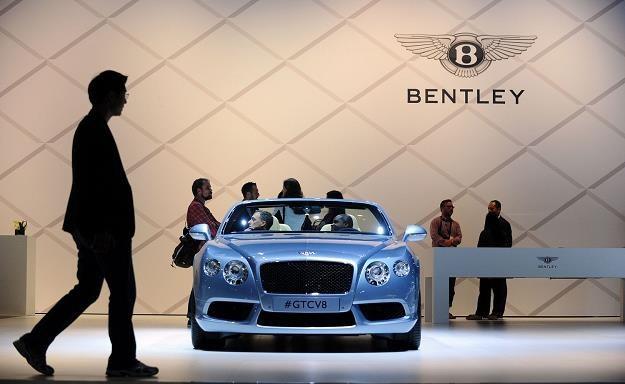 Bentley zanotował najlepszy wynik w historii /AFP