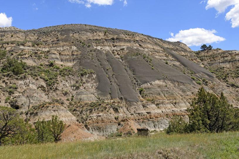 Bentonit na zboczu Badlands w USA /©123RF/PICSEL