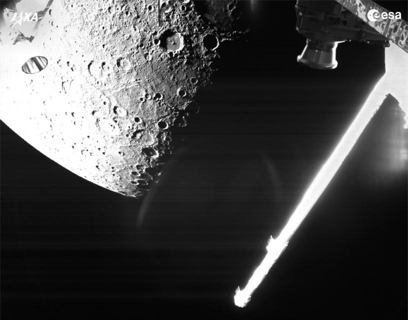 BepiColombo spotyka Merkurego - zdjęcie z 1 października /materiały prasowe