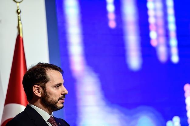 Berat Albayrak, minister finansów Turcji /AFP