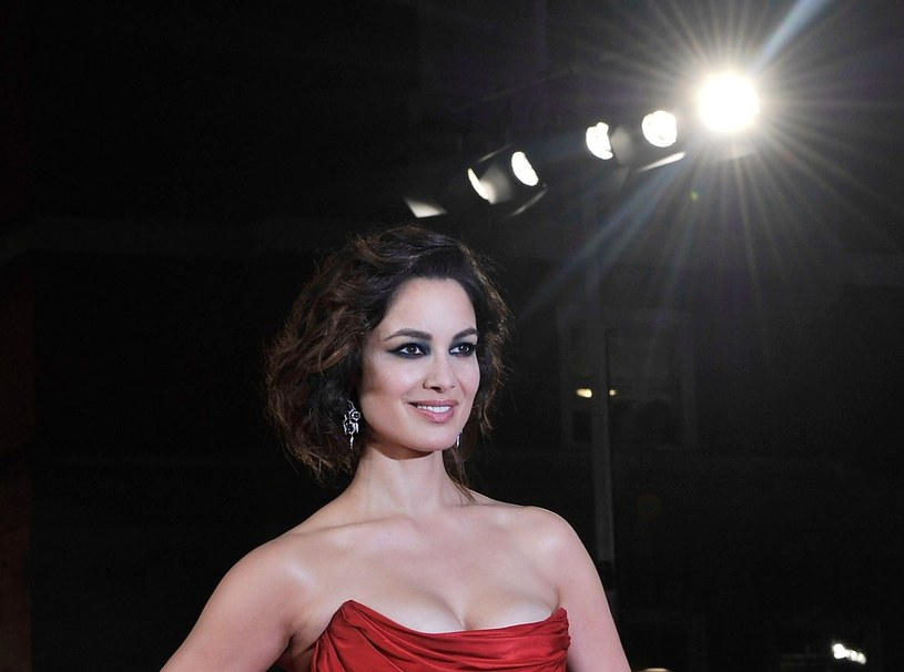 Berenice Marlohe - już niebawem zaprezentuje się wam w skąpej bieliźnie /Getty Images/Flash Press Media