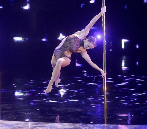 "Berenika Nienadowska w finale ""Mam talent"" /AKPA"