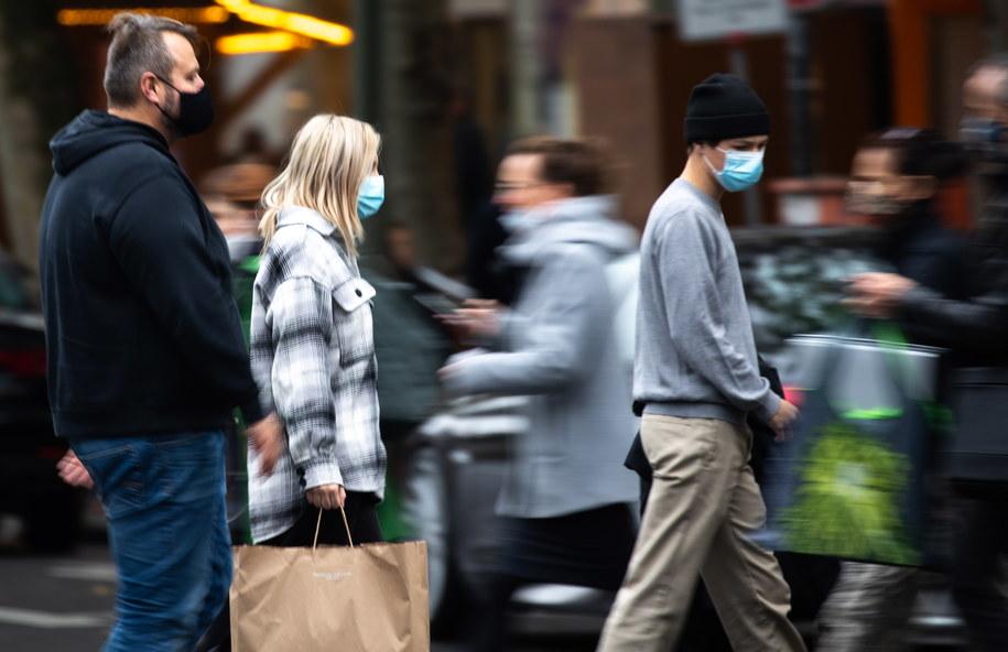 Berlin w dobie pandemii /HAYOUNG JEON /PAP/EPA