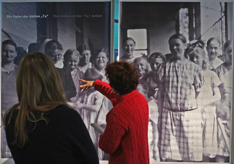 Berlin. Wystawa upamiętniająca ofiary akcji T4 /Getty Images