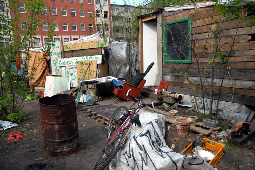 Berlińskie slumsy zamieszkiwane przez bezdomnych, zdj. ilustracyjne /Przemyslaw Graf /Reporter