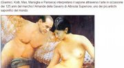 Berlusconi, jego żona i pani minister w negliżu