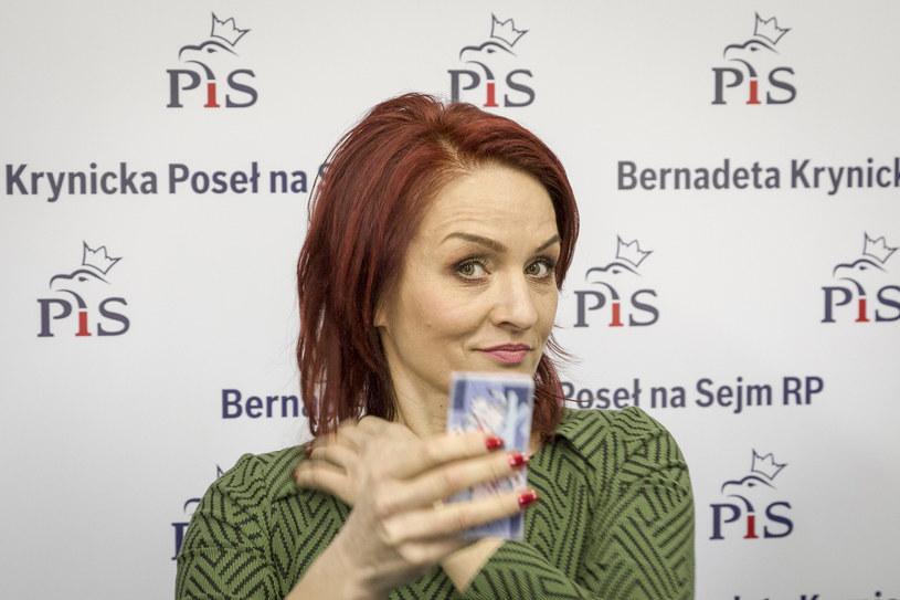 Bernadeta Krynicka to gwiazda Sejmu VIII kadencji /Marek Maliszewski  /Reporter