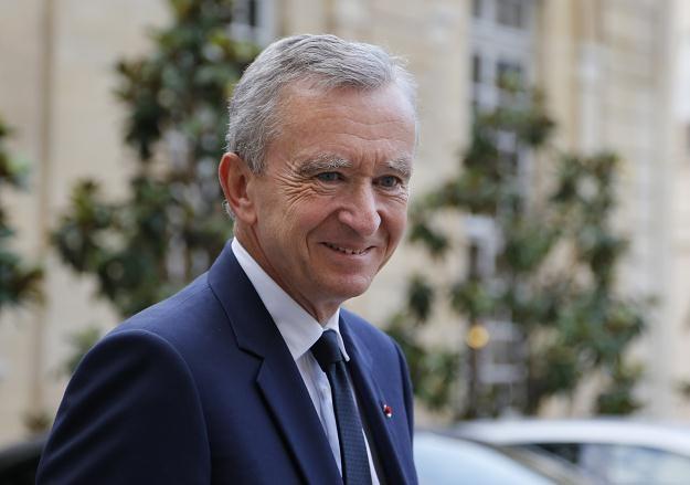 Bernard Arnault, właściciel ekskluzywnego konglomeratu LVHM (Louis Vuitton, Christian Dior) /AFP