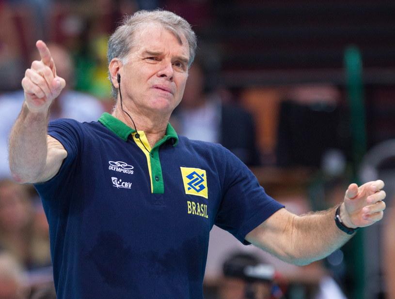 Bernardo Rezende - selekcjoner reprezentacji Brazylii /Andrzej Grygiel /PAP