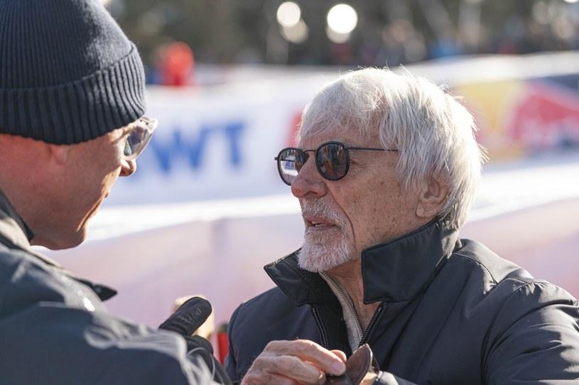 Bernie Ecclestone na zdjęciu ze stycznia tego roku /Getty Images