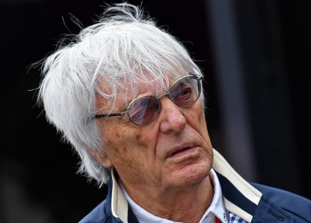Bernie Ecclestone, szef F1, zwany F1 Supremo. Fot. Andrej Isakovich /AFP