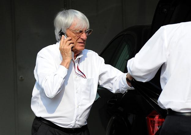 Bernie Ecclestone /AFP