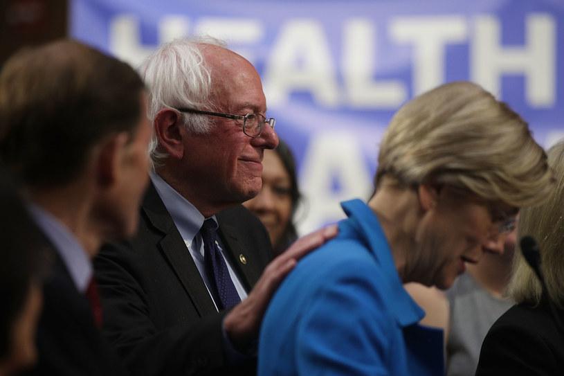 Bernie Sanders i Elizabeth Warren /AFP