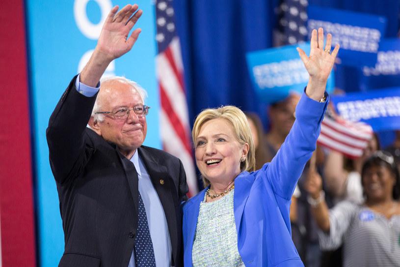 Bernie Sanders i Hillary Clinton /AFP