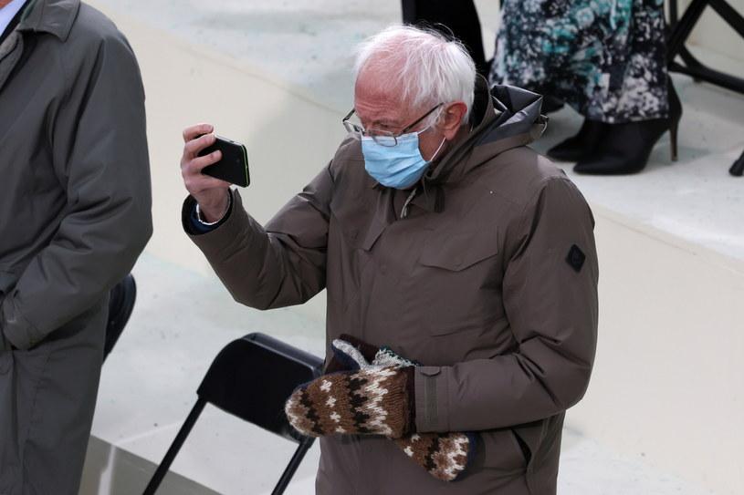 Bernie Sanders: My w Vermont wiemy, jak radzić sobie z zimnem /Tasos Katopodis  /PAP/EPA