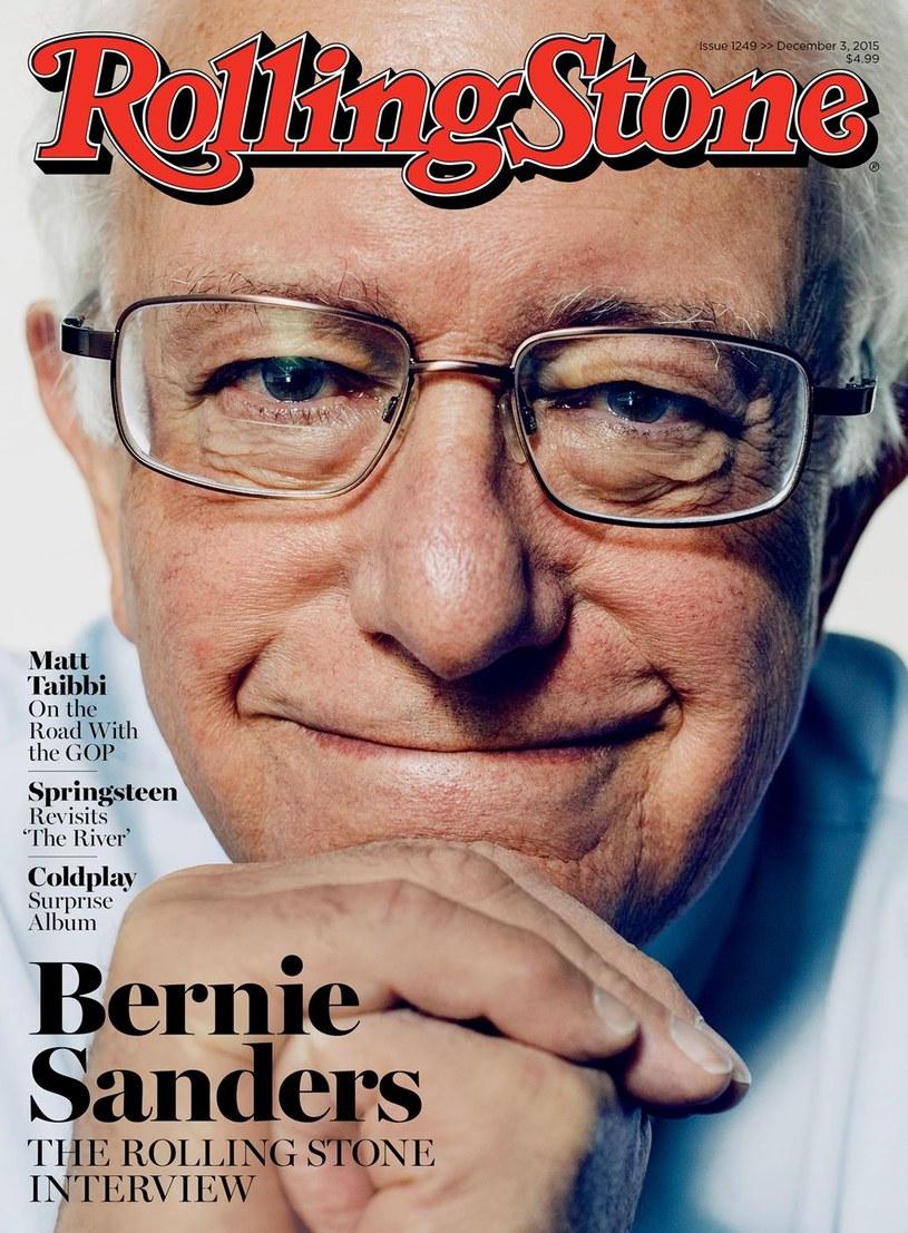 """Bernie Sanders na okładce """"Rolling Stone"""" /"""