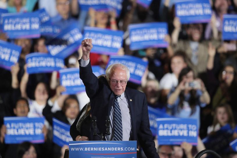 """Bernie Sanders stanął na czele """"politycznej rewolucji"""" /AFP"""
