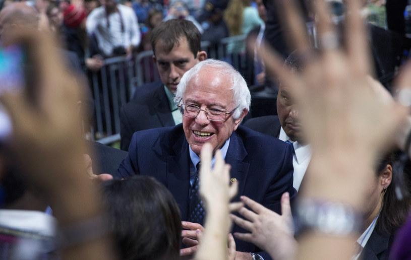 Bernie Sanders z sympatykami w Michigan /AFP