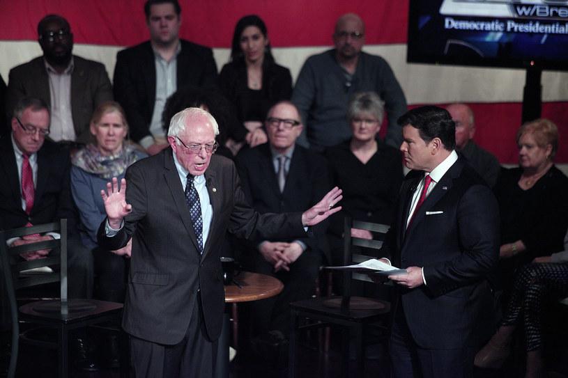 Bernie Sanders /BILL PUGLIANO / GETTY IMAGES NORTH AMERICA /AFP