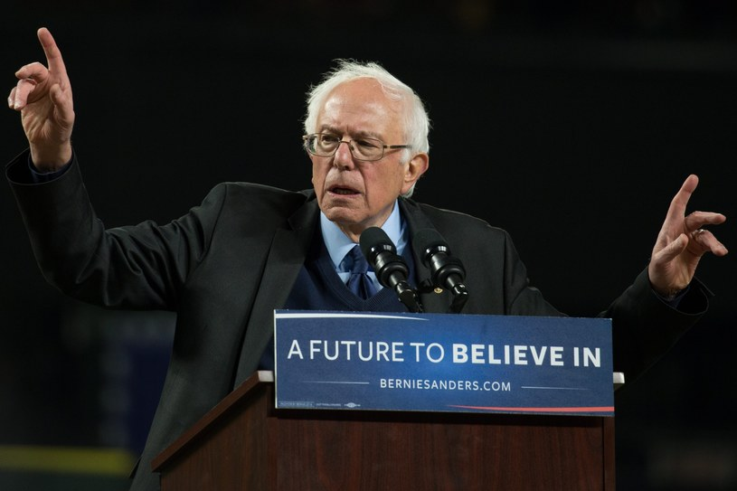 Bernie Sanders /MATT MILLS MCKNIGHT /PAP