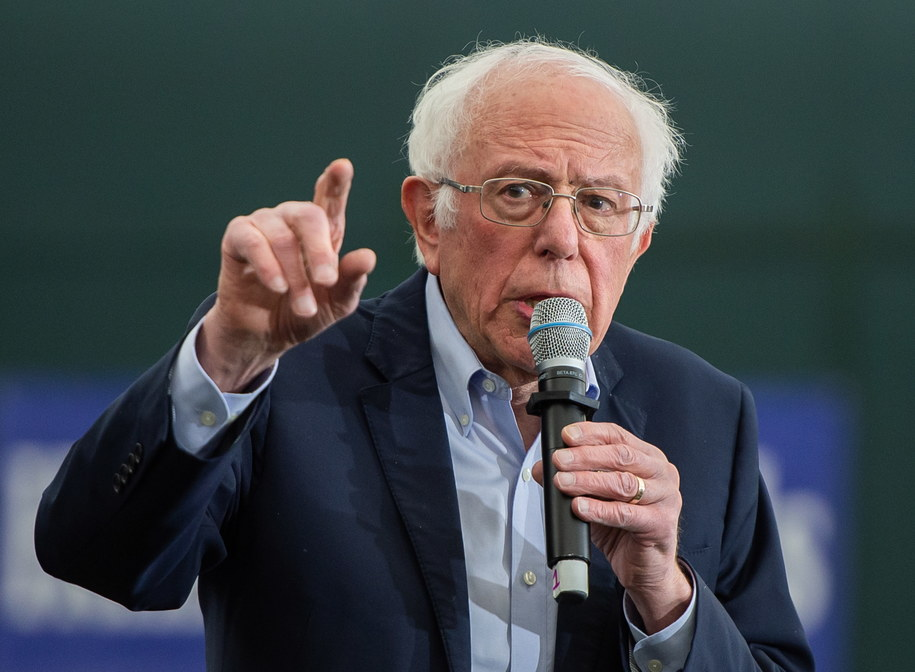 Bernie Sanders /AMANDA SABGA /PAP/EPA