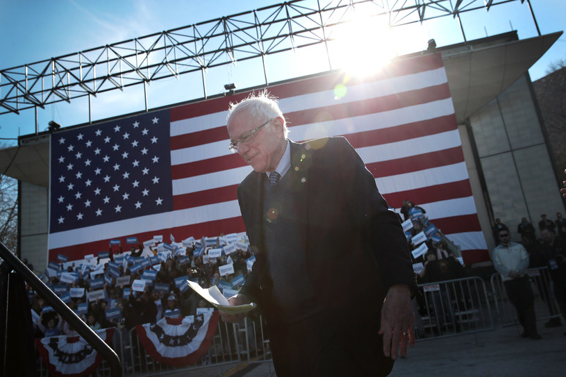 Bernie Sanders /AFP