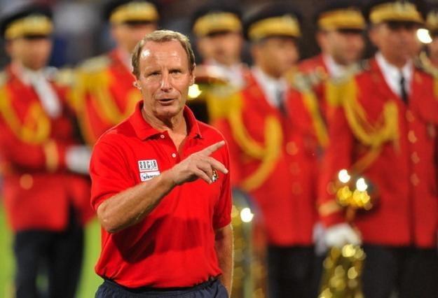 Berti Vogts, trener piłkarskiej reprezentacji Azerbejdżanu /AFP