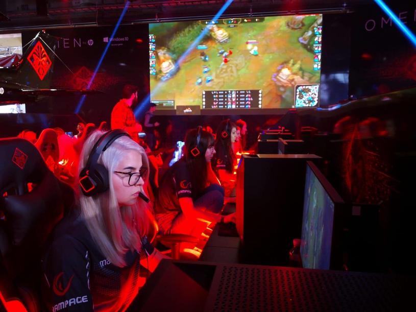 Besiktas eSports podczas turnieju LAN-owego. /materiały źródłowe