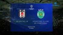 Besiktas - Sporting CP. SKRÓT. WIDEO (Polsat Sport)