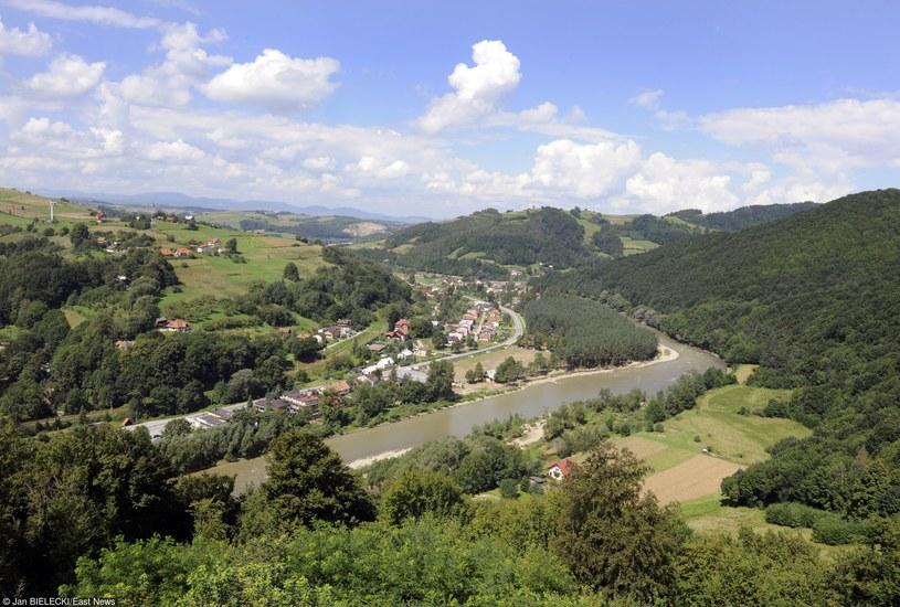 Beskid Sądecki. Widok na Dolinę Popradu/fot. J. Bielecki /East News
