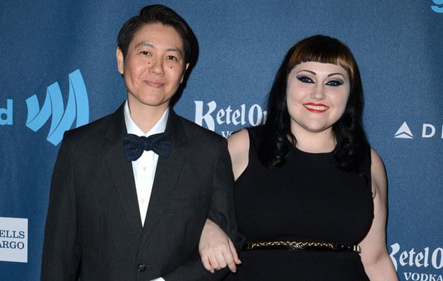 Beth Ditto i Kristen Ogata wzięły ślub! /Earl Gibson III /Getty Images