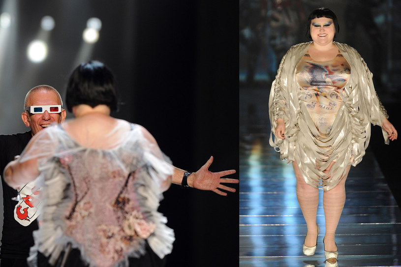 Beth Ditto pojawiła się w Paryżu w 2010 i 2011 roku, fot. Pascal Le Segretain / Staff /Getty Images